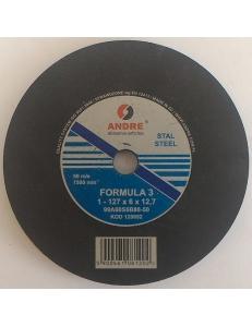 Шлифовальный круг Andre 127x6x12,7 для заточки пил фото