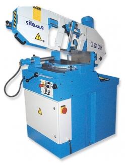 Siloma W 220 GTH ленточнопильный отрезной станок полуавтоматический консольный
