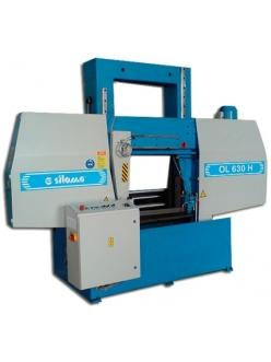 Siloma W 630 HA / W 800 HA ленточнопильный отрезной станок полуавтоматический колонный