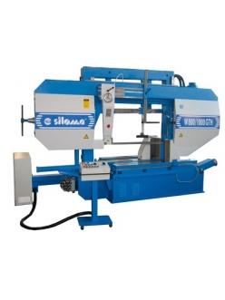 Siloma W 800 GTH / W 1000 GTH ленточнопильный отрезной станок полуавтоматический колонный