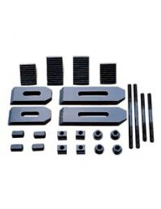 Комплект прижимов для 14 мм Т-образного паза (58 шт) фото