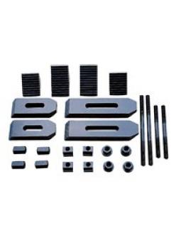 Комплект прижимов для 14 мм Т-образного паза (58 шт)