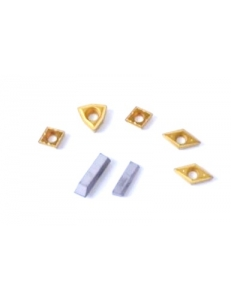 Набор сменных твердосплавных пластин для резцов 10х10 мм фото