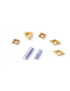 Набор сменных твердосплавных пластин для резцов 8х8 мм фото