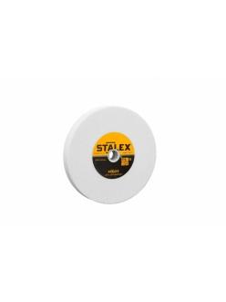 Круг абразивный Stalex 150х20х12,7 зернистость WA60 (белый корунд)