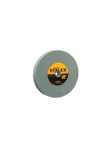 Круг абразивный Stalex 400х75х127 зернистость GC120(зеленый корунд) фото