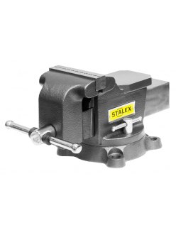 "Тиски слесарные Stalex ""Горилла"", 100 х 75 мм., 360°, 7,0 кг."