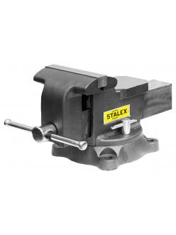 "Тиски слесарные Stalex ""Горилла"", 150x125 мм, 360°, 14,0 кг"