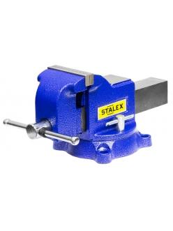"""Тиски слесарные Stalex """"Гризли"""", 100x100 мм, 360°, 9,5 кг"""