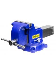 "Тиски слесарные Stalex ""Гризли"", 150 х 150 мм., 360°, 19,0 кг. фото"
