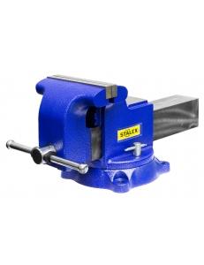 "Тиски слесарные Stalex ""Гризли"", 200 х 200 мм., 360°, 29,5 кг. фото"